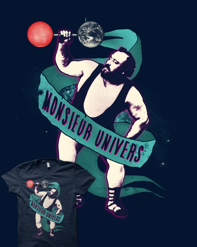 Mr. Universe by deep space monkey on Threadless