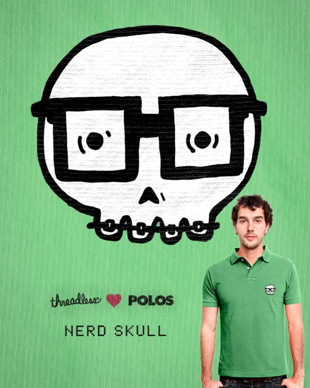 Nerd Skull by Raulio on Threadless