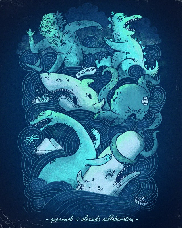 Sissy Sea Fight by alexmdc on Threadless