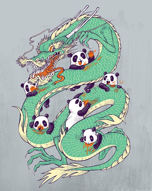 Year of the panda by citizen rifferson on Threadless