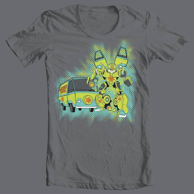 Mystery Autobot by SINR on Threadless
