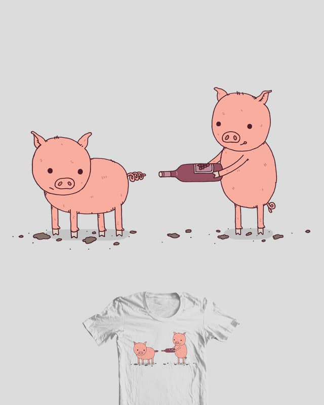 That'll Do Pig by Haasbroek on Threadless