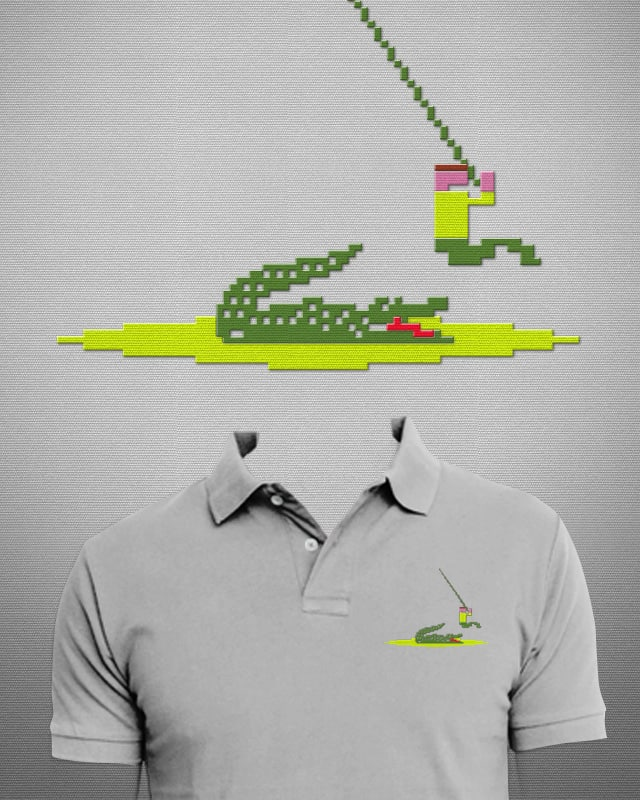 skip the alligator by fdegrossi on Threadless