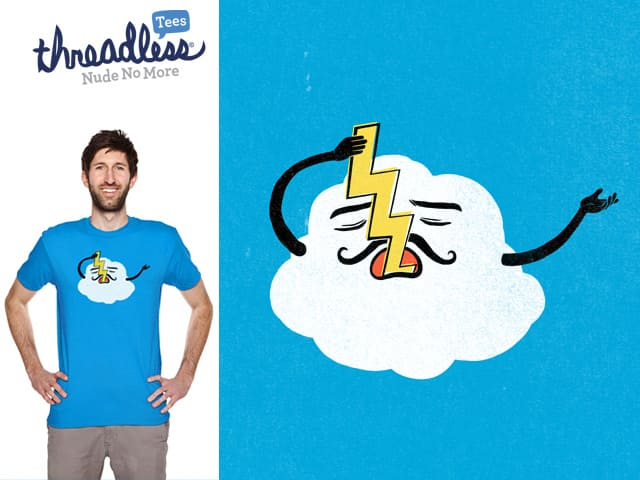 Mr. Cloud Does it Even Cooler by TangYauHoong on Threadless