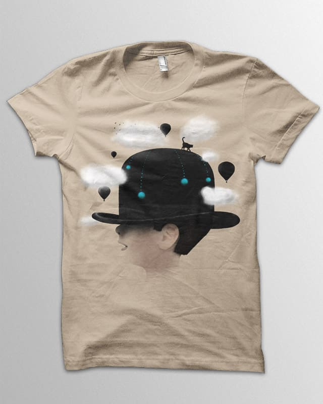 Dreaming by speakerine on Threadless