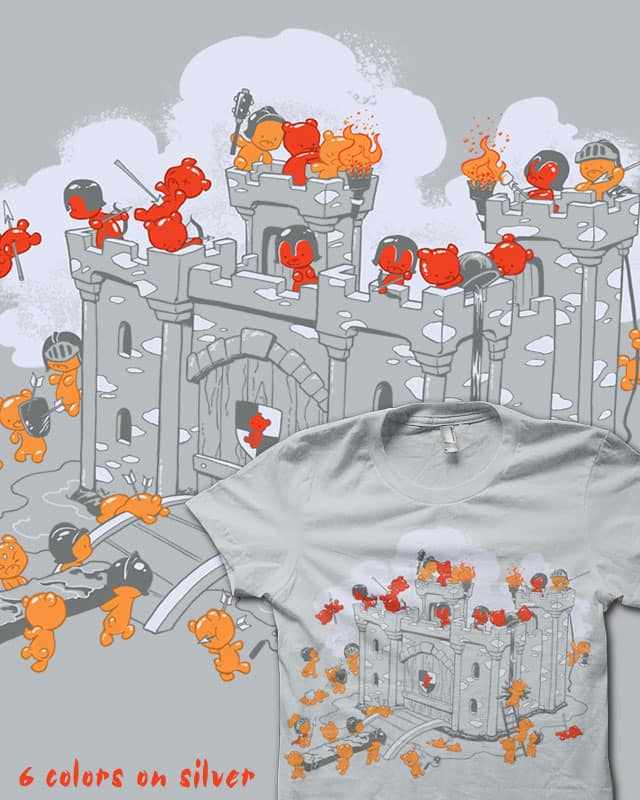 The Siege by Dooomcat on Threadless