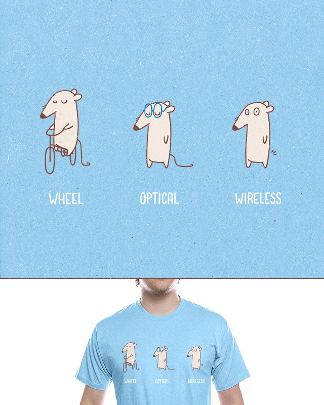 Mouse Evolution by jameses.x on Threadless