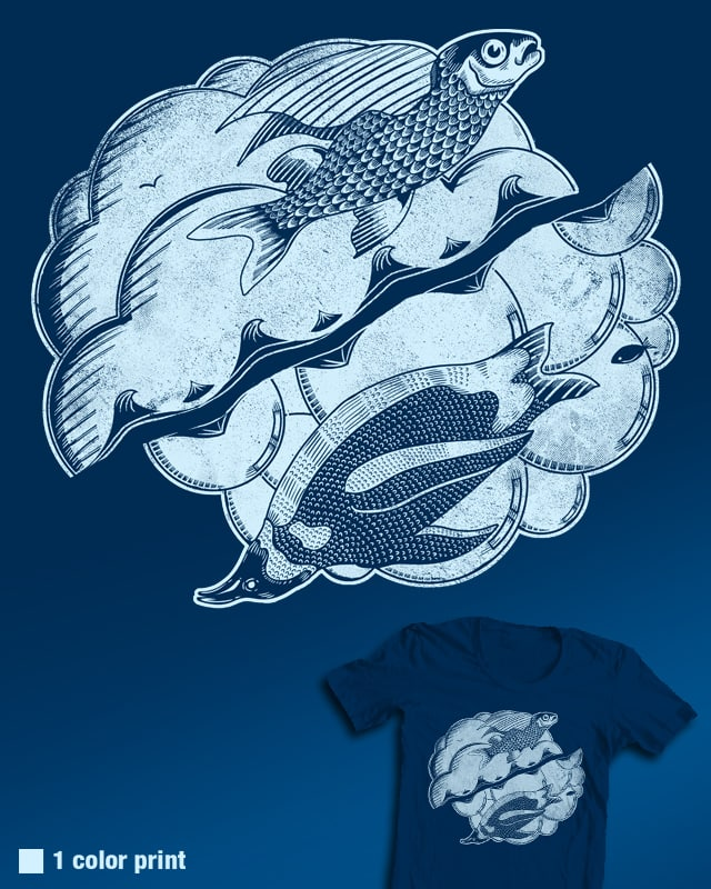 Fish Out Of Water by Ste7en on Threadless