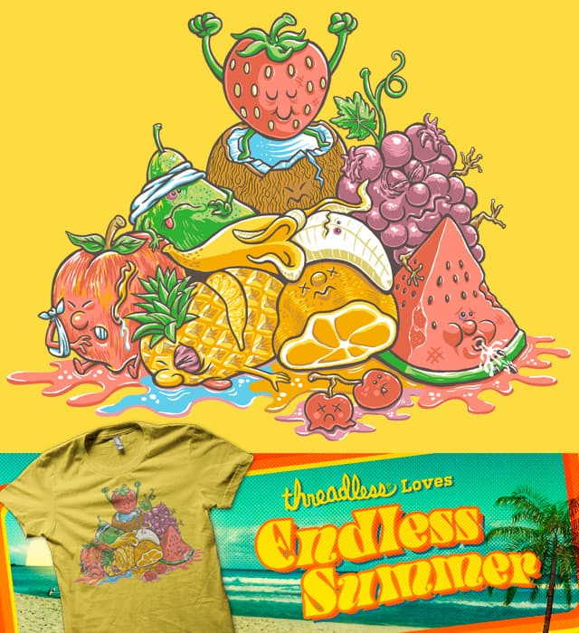 Tropical Fruit Punched by herky on Threadless