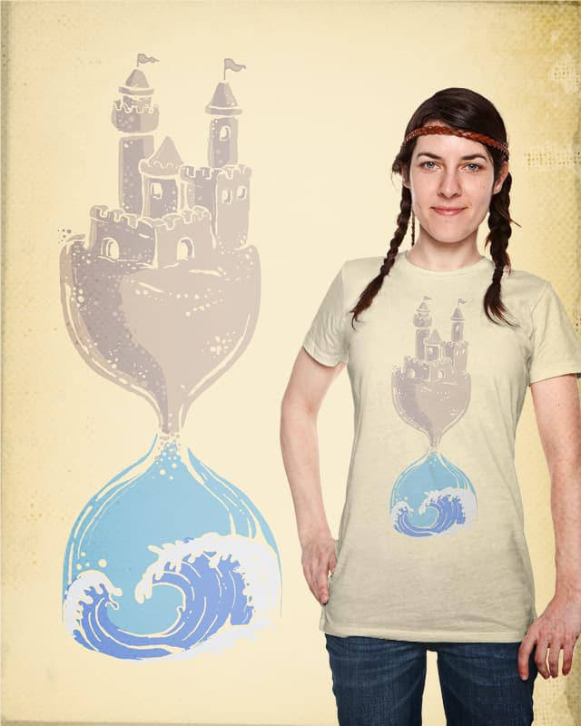 Tides of time... by tolagunestro on Threadless