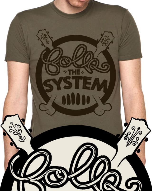 Folk The System by Landon Sheely on Threadless