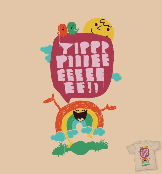 A Gay Rainbow by radiomode on Threadless