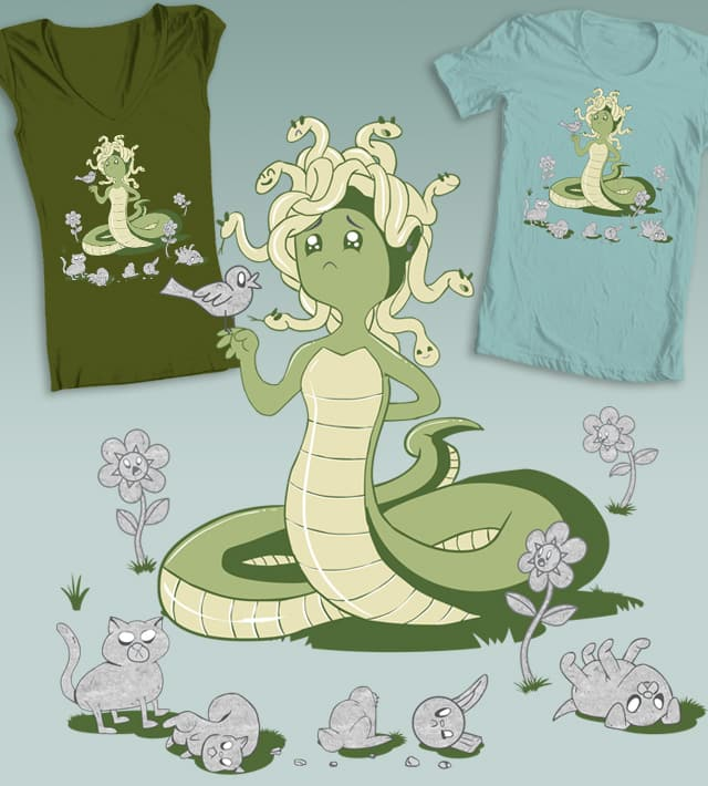 Lil' Medusa and Friends! by voodazz on Threadless