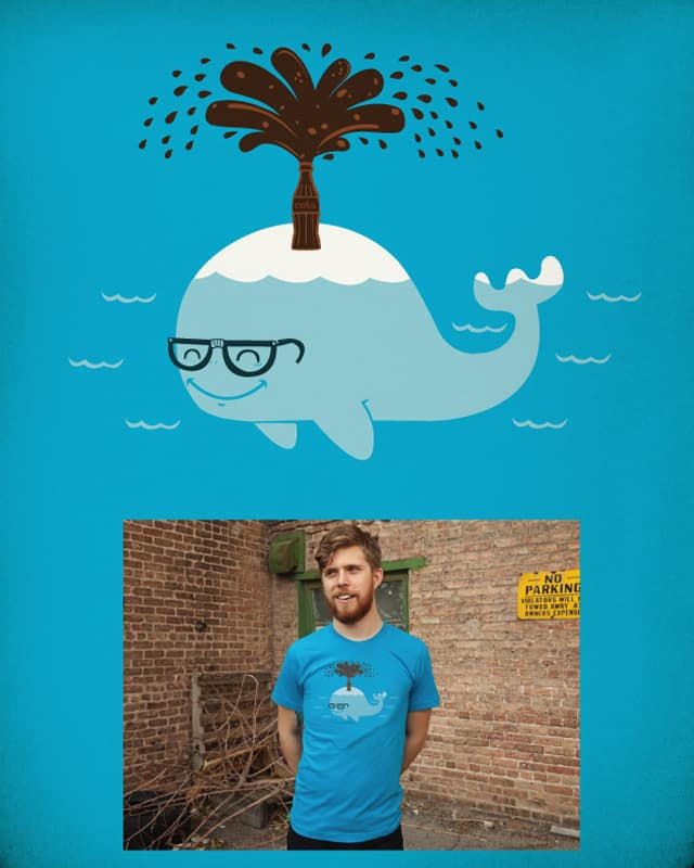 whale & cola by ndikol on Threadless