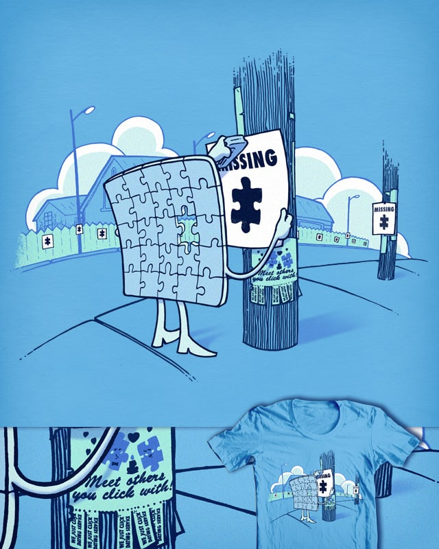 Missing by ivanrodero on Threadless