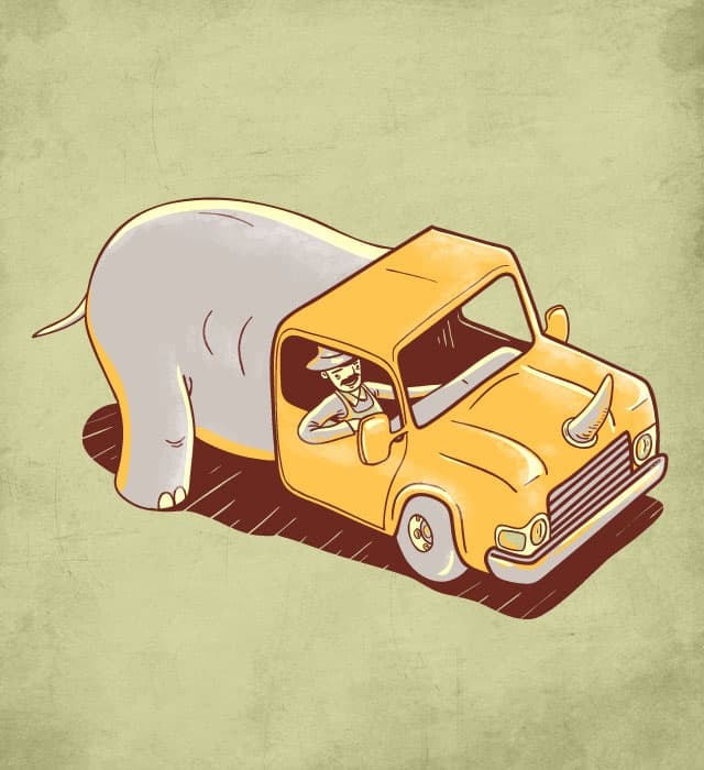 Brand NEW truck by childmirror on Threadless