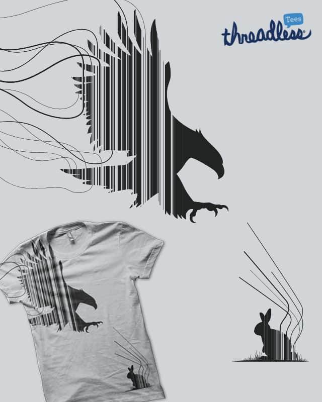Mighty Oryctolagus cuniculus by alfboc on Threadless
