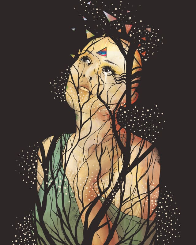 Gazing The Fragments by robsonborges on Threadless