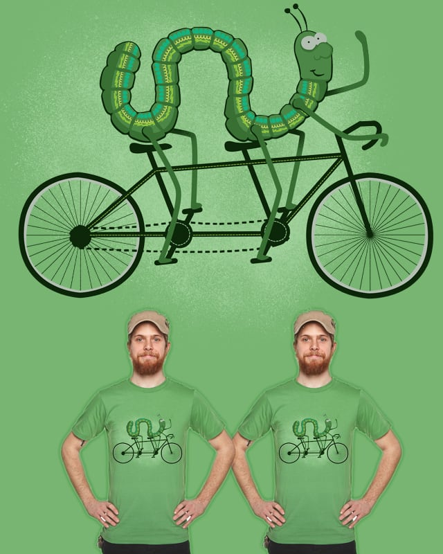 Bicycle Built For Two by Landon Sheely on Threadless