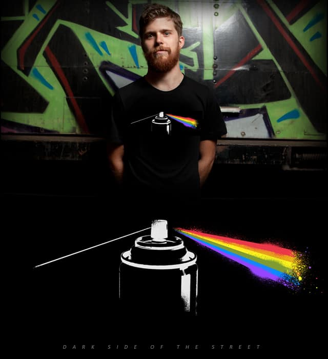 Dark Side of the Street by ounom on Threadless