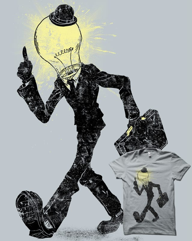 the Idea Man by biotwist on Threadless