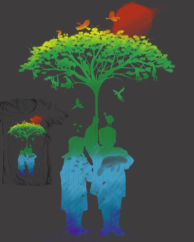 Rain Forest by rejagalu on Threadless