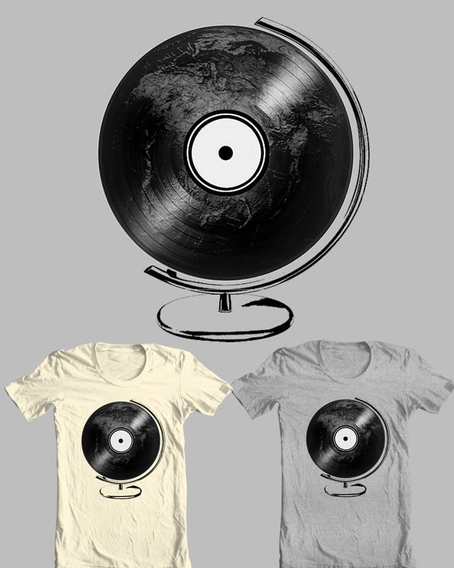 DISCography by Evan_Luza on Threadless