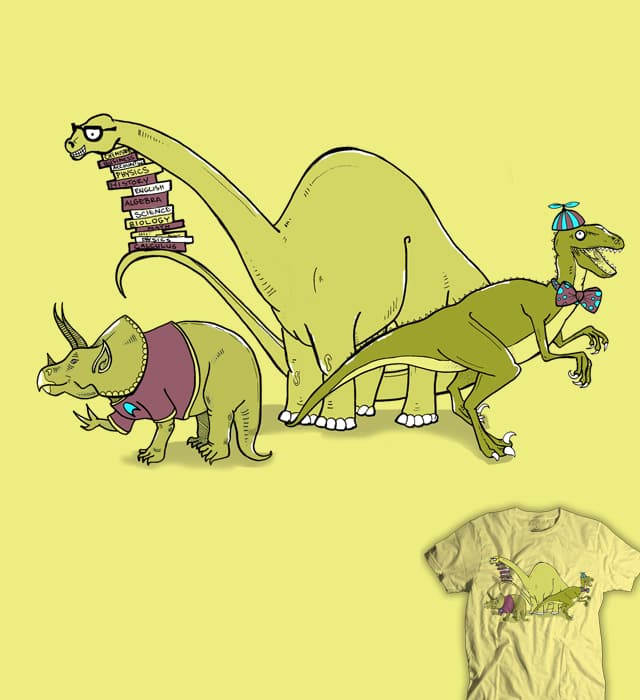 Nerdosaurs by HorsefaceDee on Threadless