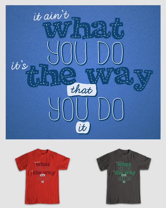 Results by Bramish on Threadless