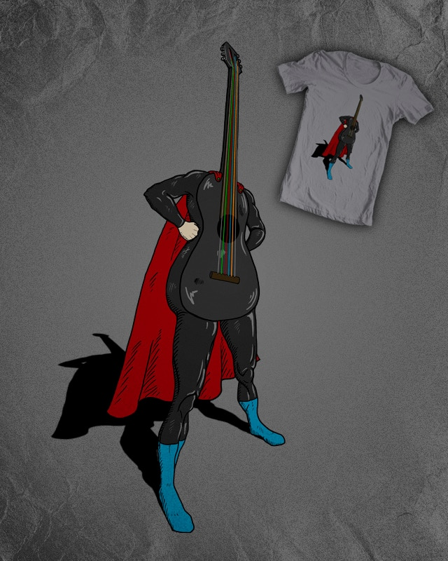GUITAR is a HERO by lugepuar on Threadless