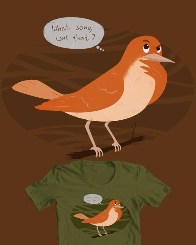 A day in the life of a songbird by babitchun on Threadless