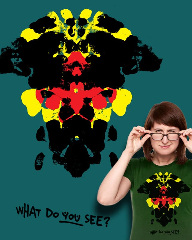 what do you see? by smartonoff on Threadless