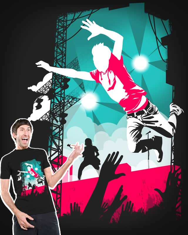 Stage Diver by Razual on Threadless