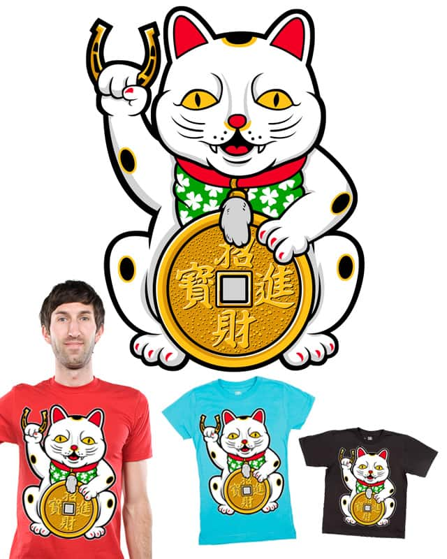 Ultimate Lucky Charm by lumad on Threadless