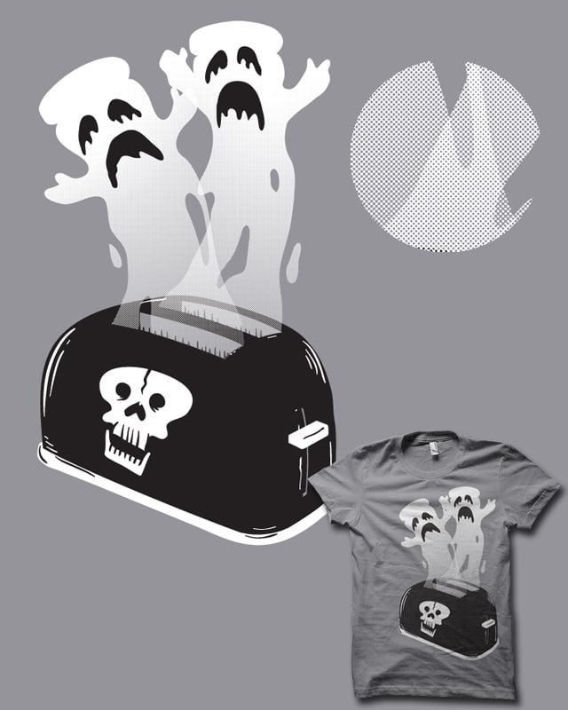 Ghost Toast by biotwist on Threadless