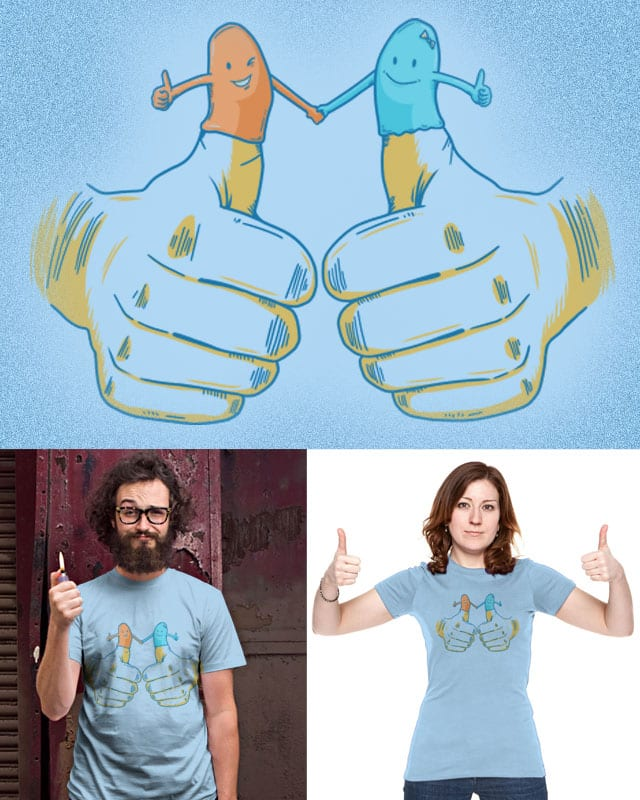 Thumbs Up by eQuivalent on Threadless