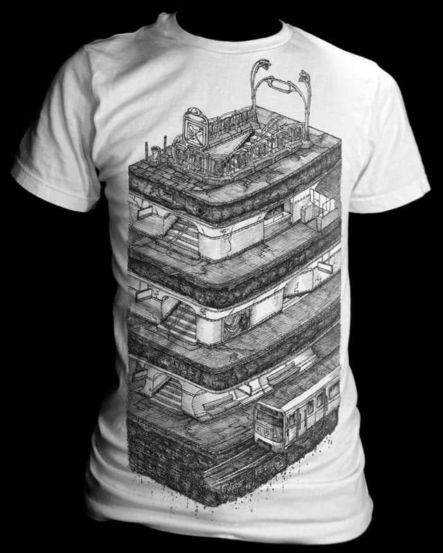 La Cite by ewaken on Threadless