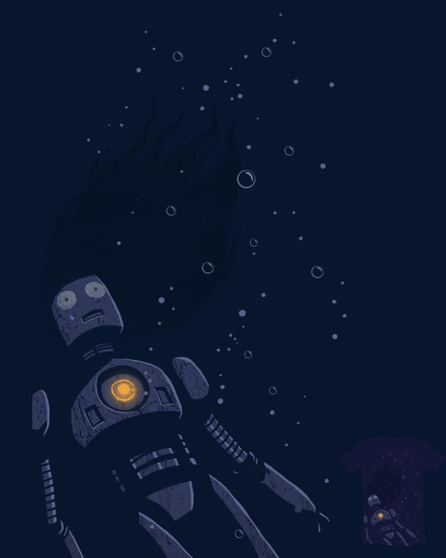 Drowning Robot by DannE-B on Threadless