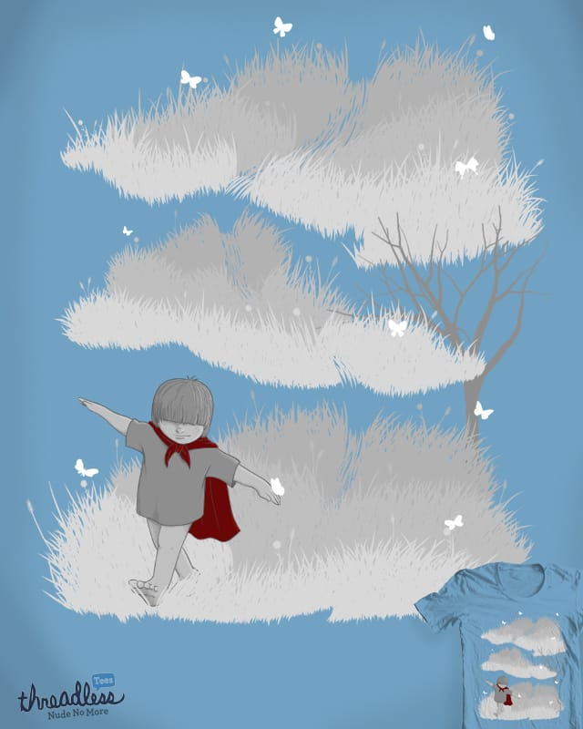 A cloudy day by babitchun on Threadless