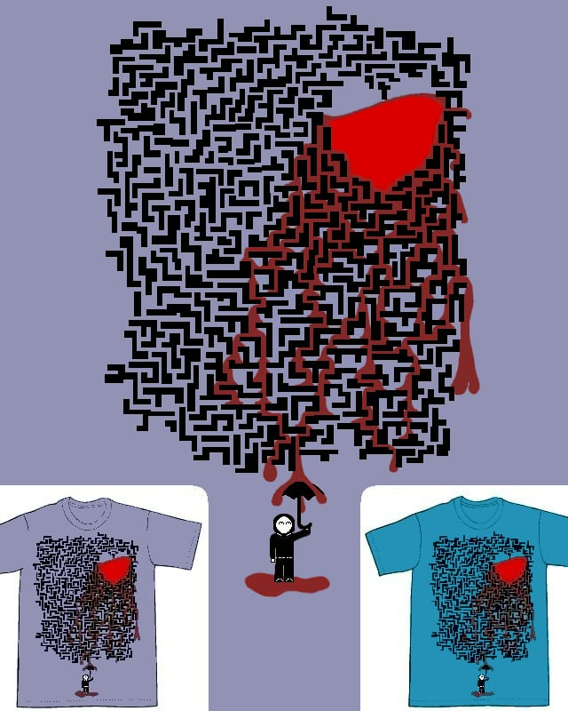 Me thinks there be a leak by FlyingMonkeyMan on Threadless