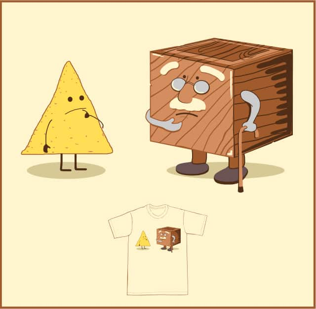 Chip Off the What Now? by Bio-bot 9000 on Threadless