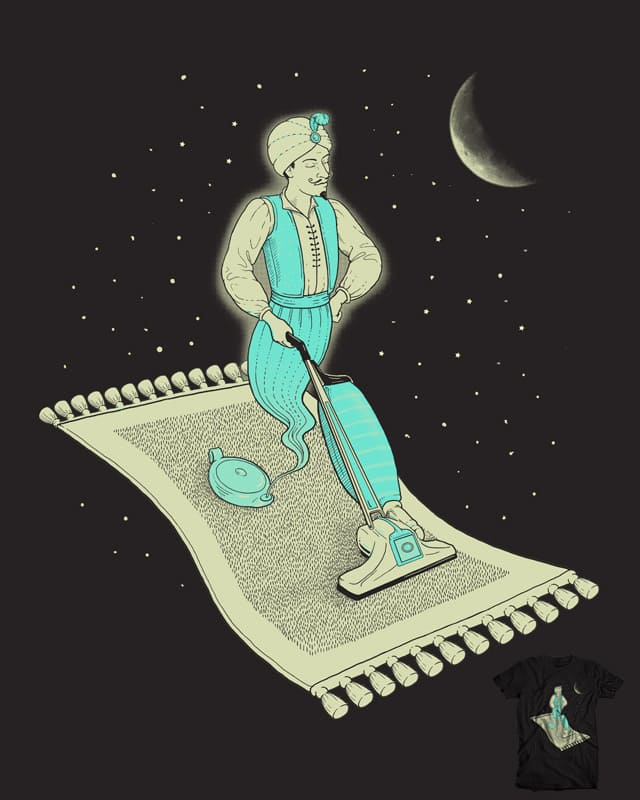 Magic Carpet Cleaning by jillustration on Threadless