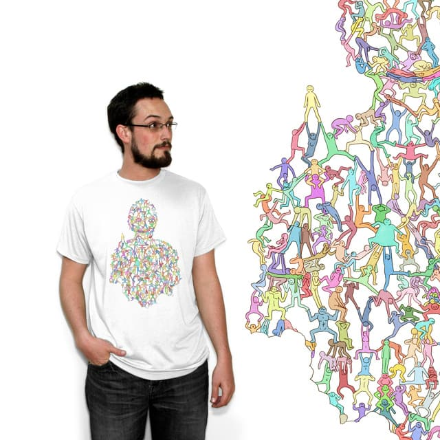 Shoulders of Giants by wfismer on Threadless