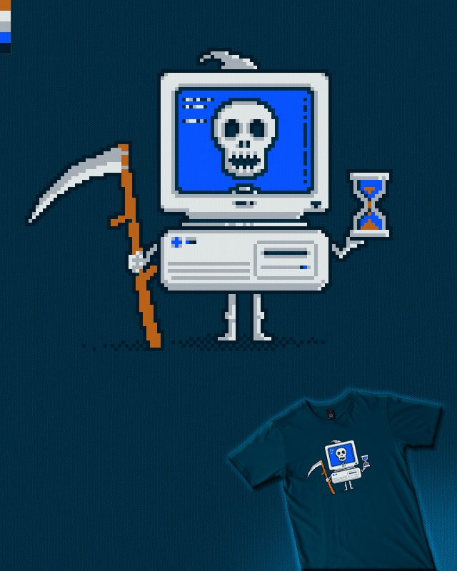 Blue Screen of Death by HtCRU on Threadless