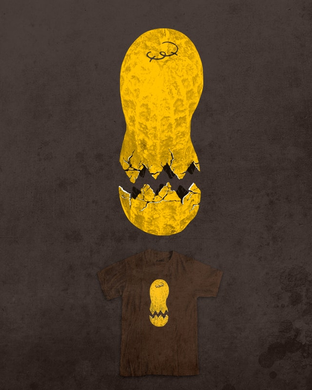 Cracked Peanut 2 by jerbing33 on Threadless