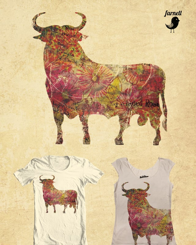 The vintage bull by Farnell on Threadless