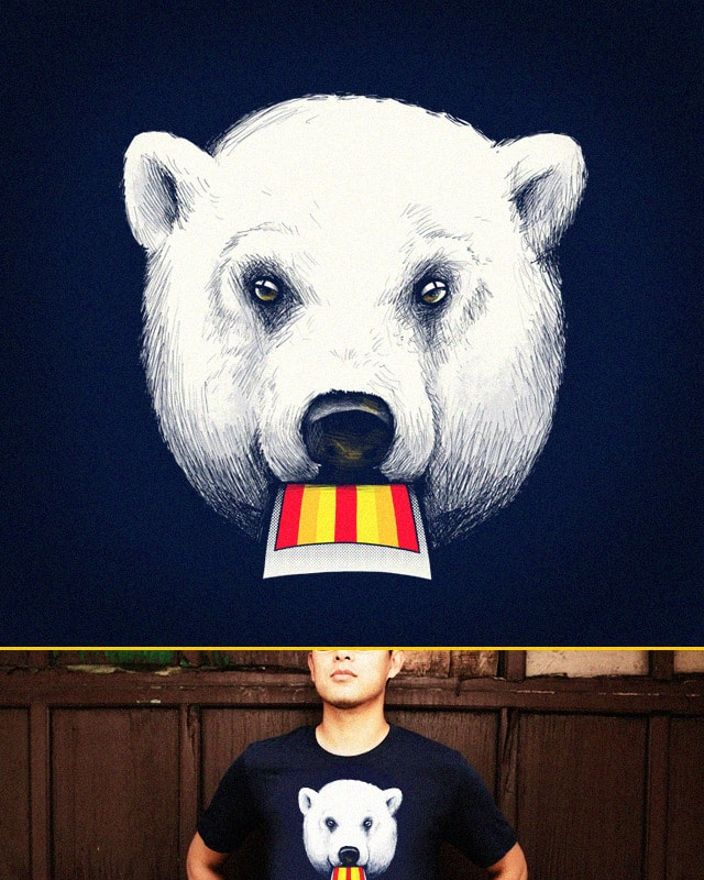 POLARoid BEAR by alexmdc on Threadless