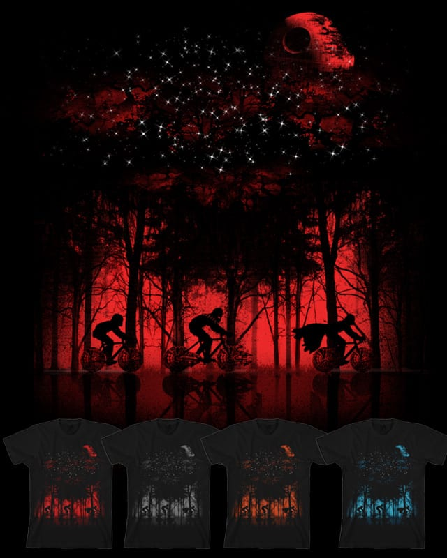 Tour de l'espace by dandingeroz on Threadless