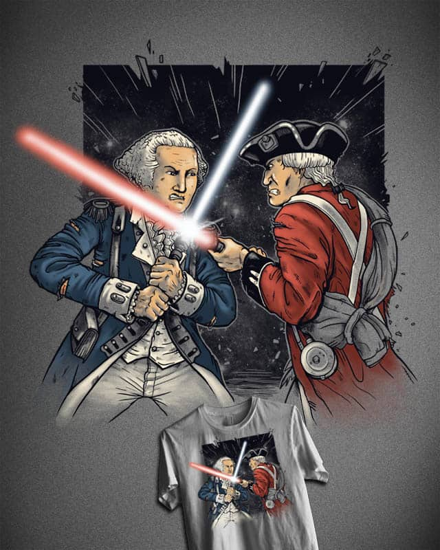 The British Empire Strikes Back by MadKobra on Threadless