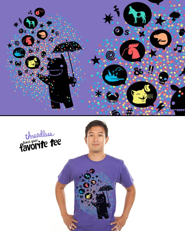 varicolored cryptolect by heldenstuff on Threadless